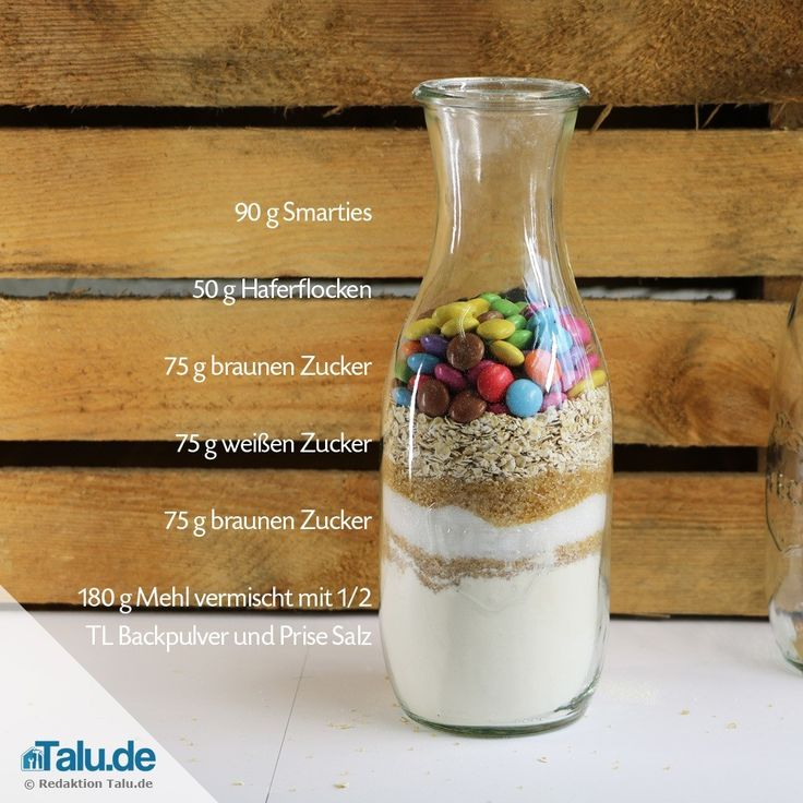 So können Sie blitzschnell und günstig jeden glücklich machen. Verschenken Sie eine selbstgemachte Backmischung im Glas. Hier gibt es vier leckere Rezepte!