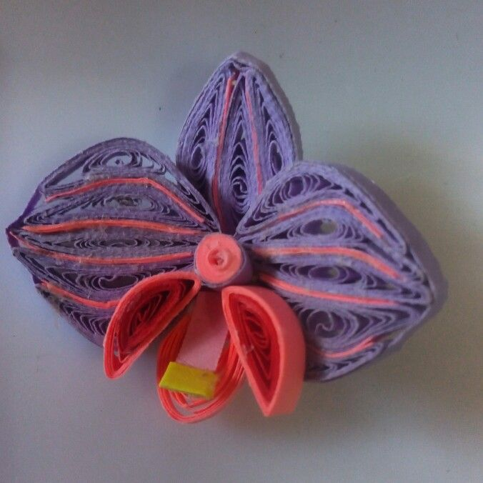 Orchid quilling ...