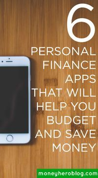 If you want to learn the best way to manage your finances on the go, check out this awesome list of 6 personal finance apps that will help you make money, save money, and budget easier!