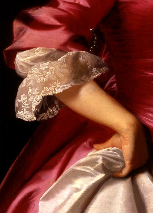 """Mrs. George Watson"" (1765) (detail) by John Singleton Copley (1738-1815)."