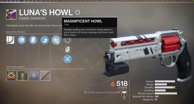 Destiny 2 forsaken lunas howl competitive reward