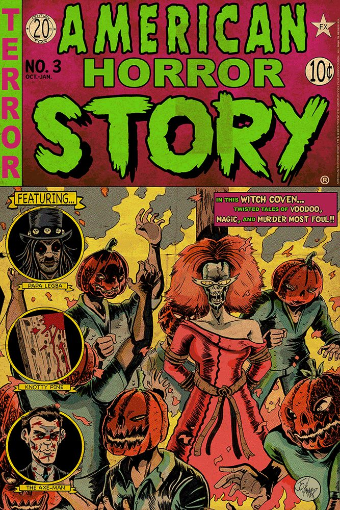 """American Horror Story Issue 3: Coven"" by J.Q. Hammer"