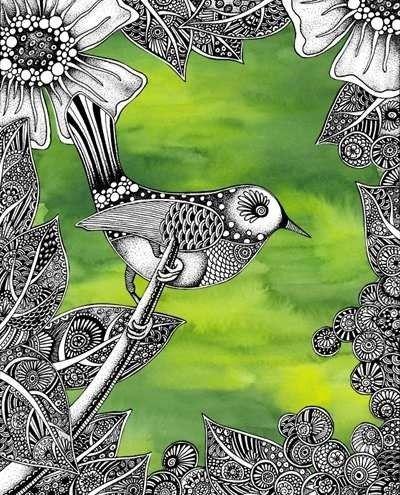 744 best images about zentangle on pinterest sketchbooks for Koi larousse