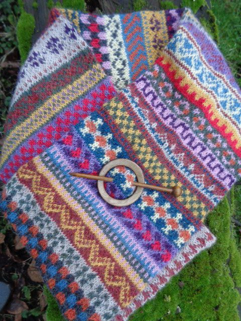 91 best Fair-Isle images on Pinterest | Board, Bracelet and Colors