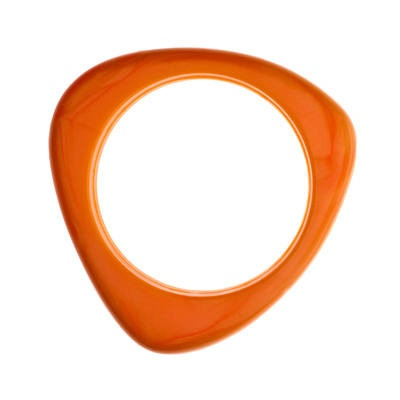Bermuda Bangle - Squash Vibrant orange bangle, just like orange squash. GUMIGEM™ is jewellery for adults to wear. The pendants are made of baby safe (non toxic) silicone - like most other 'conventional' teething products