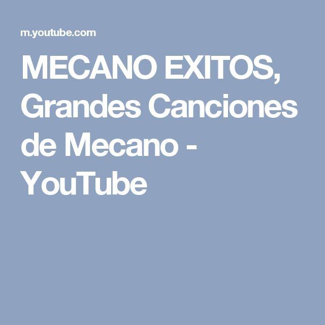 MECANO EXITOS, Grandes Canciones de Mecano - YouTube