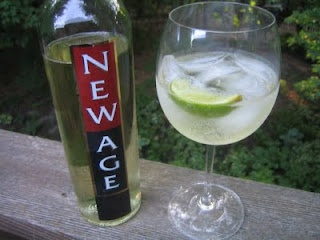 Image result for new age white wine with lime