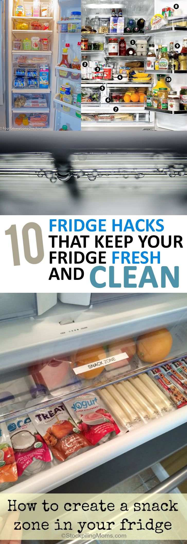 Keep your fridge fresh and clean with these great tips!
