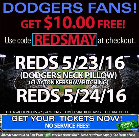 Dodger tickets discount coupons