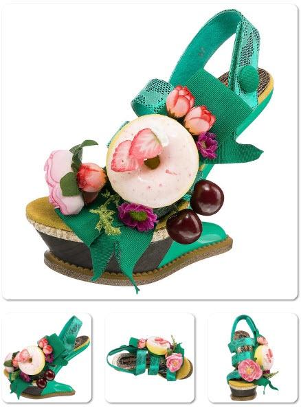 Lust auf Obst? Cherry Shaker #Sandaletten.