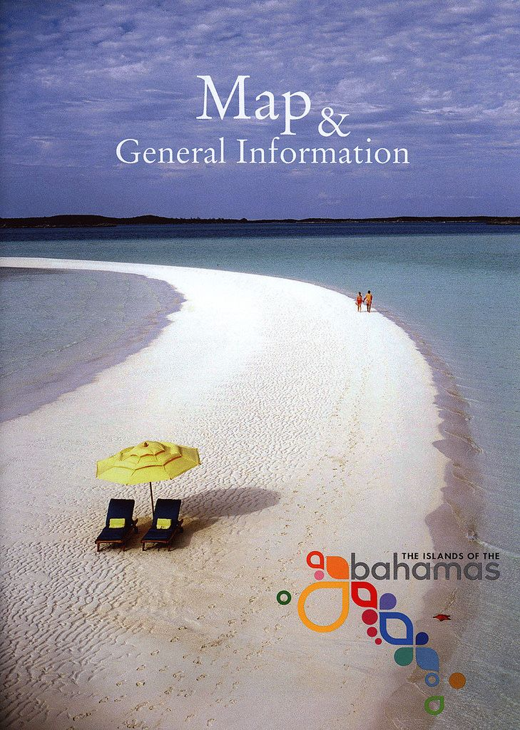 https://flic.kr/p/Fjv6qW | Map & General Information, The Islands of the Bahamas; 2011_1 | tourism travel brochure | by worldtravellib World Travel library