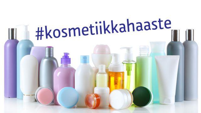 Ylen vaatehaaste jatkuu kosmetiikkahaasteella.  Kuinka paljon kosmetiikkaa sinä käytät päivän aikana?