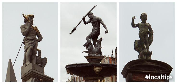 Wiadomo nie od dziś, że symbolem Gdansk, Poland jest Neptun, ale czy wiedzieliście, że z ulicy Długi Targ można jednocześnie podziwiać nie jedną a aż trzy jego podobizny?  It is well known that the symbol of Gdansk, Poland is Neptun, but did you know that on Dlugi Targ Street, you can see at once not one but three of his statues?  #Poland #Gdansk #Local #Tips
