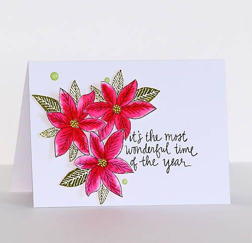 cardmaking / Vianočná pohľadnica
