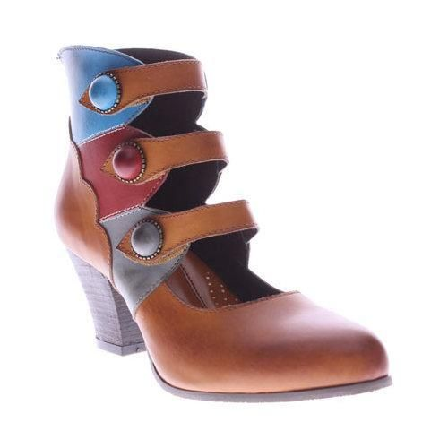 Women's L'Artiste by Spring Step Autumn Bootie Camel Multi · Camel  PumpsSpring ...