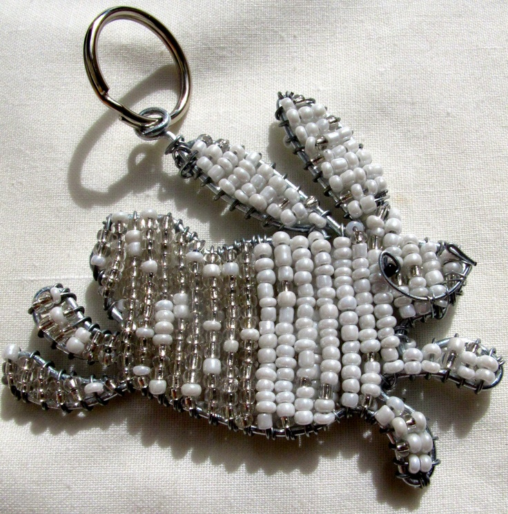 Bunny keyring, $12, Fair Trade and with free delivery in Australia