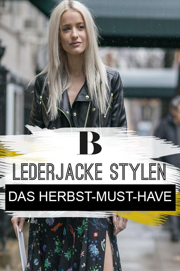 1 Trend, 2 Größen: So lässig stylst du Lederjacken im Herbst