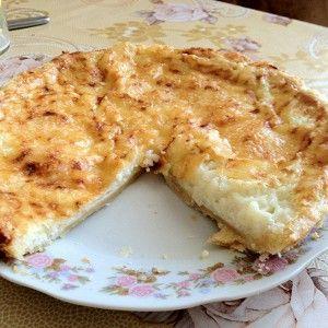 Пирог с кабачком и сыром