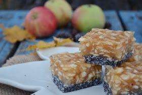 Troll a konyhámban: Mákos almás kocka sütés nélkül - paleo