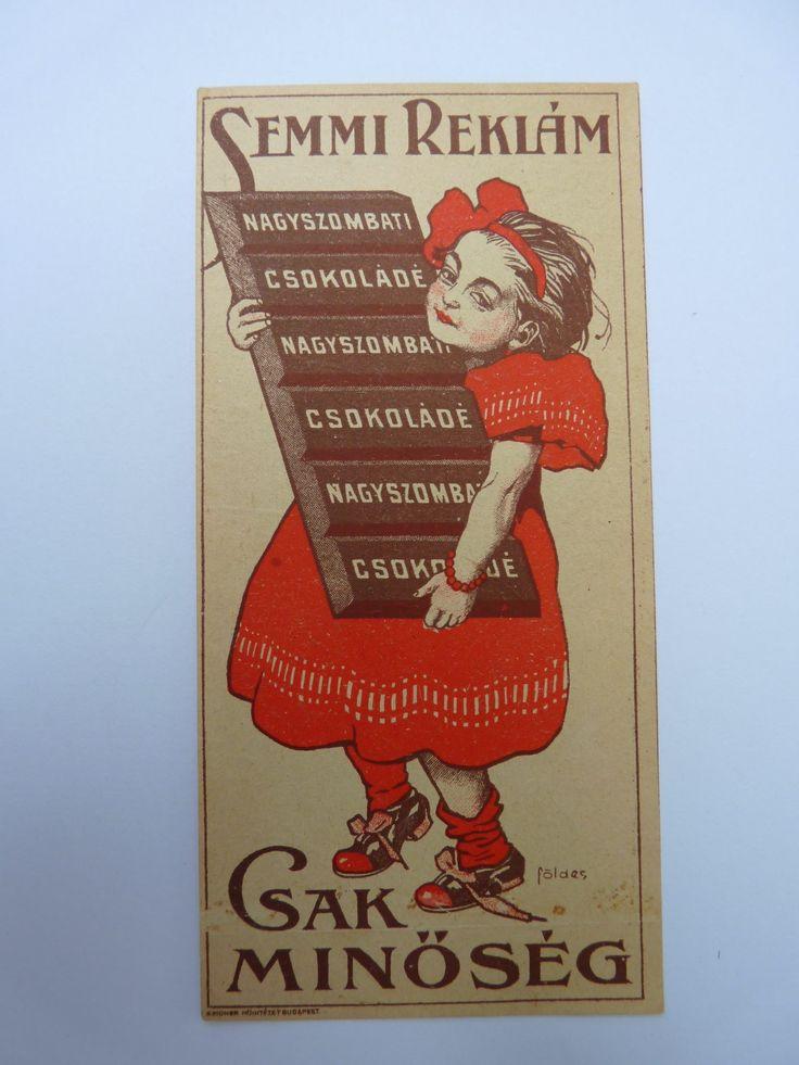 Csokoládé Múzeum Budapest gyűjteményéből.