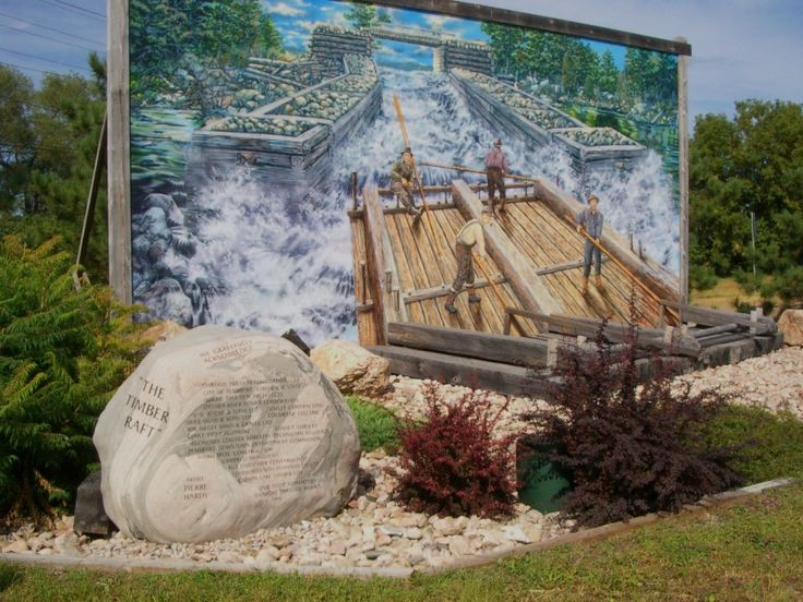 The Timber Raft, Pembroke Ontario