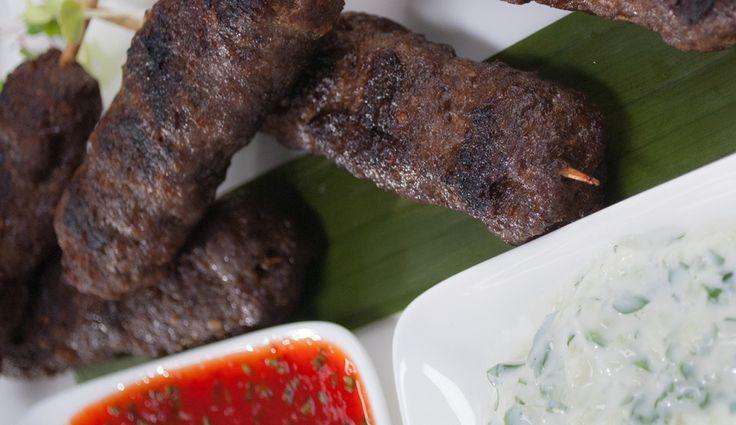 Beef and Lamb Kebabs
