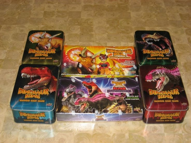 Obscure Card Game Reviews 1: Dinosaur King | Dinosaur King | BoardGameGeek