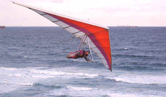 how to go hang gliding