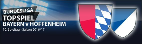 Am 10. #Bundesliga Spieltag schicken sich die Leipziger an, die alleinigen Verfolger der Bayern zu werden. Es ist jedoch der Tabellendritte Hoffenheim, der im Topspiel beim Klassenprimus in der Allianz Arena antreten muss. Spielen die Hoffenheimer dem RB in die Karten? Unsere Vorschau zum 10. Spieltag unter:  http://www.meinonlinewettanbieter.com/bundesliga-wetten/10-bundesliga-spieltag-201617-vorschau-und-wettquoten/