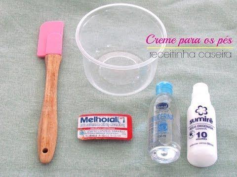 Pés de Princesa - Tratamento Pele Seca - Hidratação Caseira dos Pés