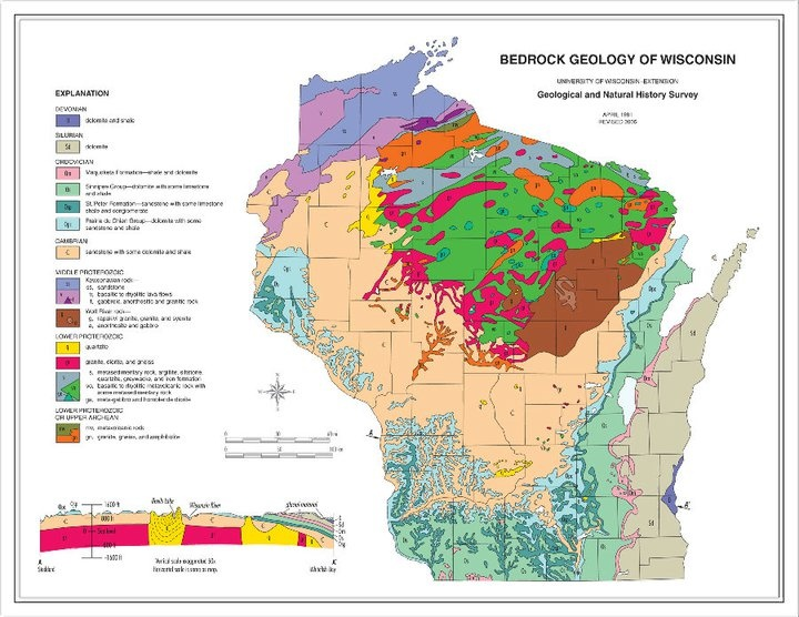 Wisconsin State Geology And Natural History Survey
