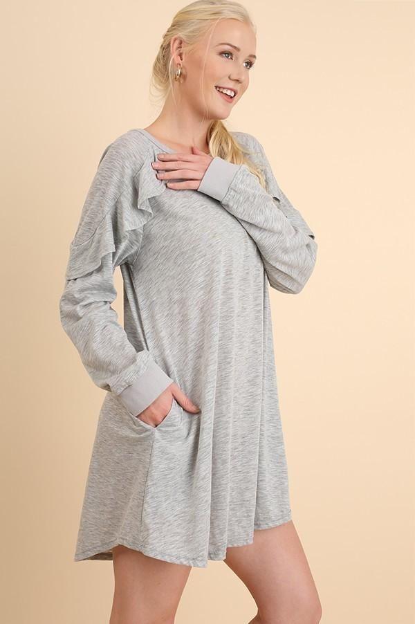 2b426f3a1f Josette Gray Dress