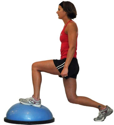 Bosu Ball Total Body Workout Health Fitness Bosu