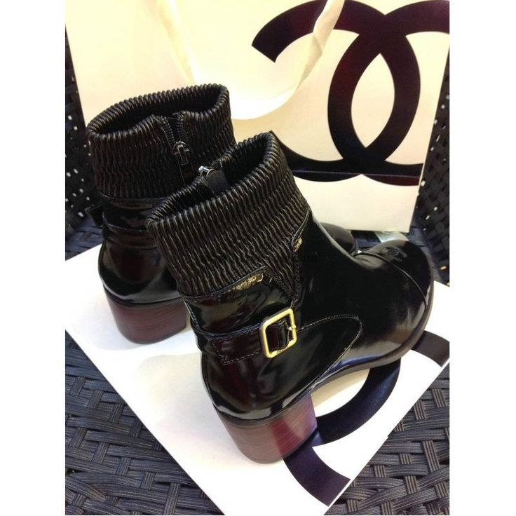 Chanel 2015 new style leather Boots CB029