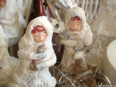 """Ватная елочная игрушка """"Винтажное рождество"""" (rukodelnoe.ru)"""