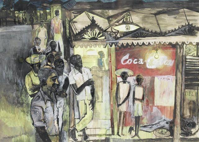 John Minton Jamaican Drawing