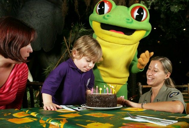 Celebrate your birthday with our triple layered chocolate Birthday Cake! http://www.therainforestcafe.co.uk/menus/kidsparties.asp