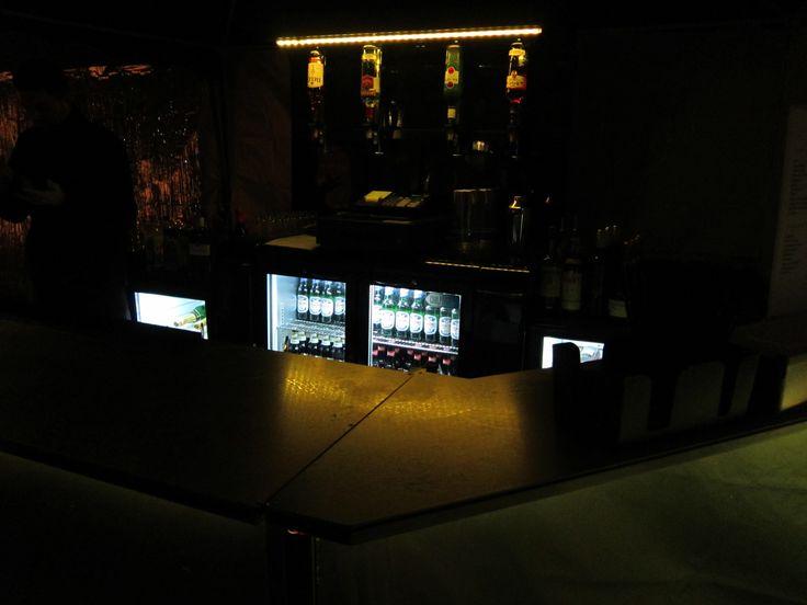 Yellow Mobile Bar