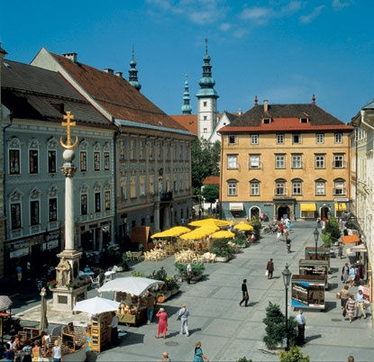 Klagenfurt, Austria--The Motherland!  Or, my Mother's Land!