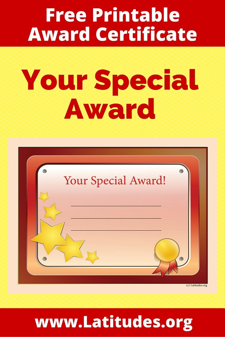 65 best images about award certificates for kids on