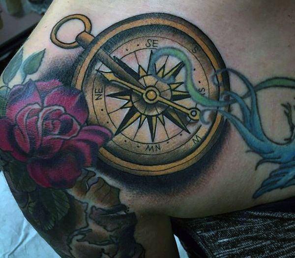 25 Viking Tattoo Designs Ideas: Best 25+ Viking Compass Tattoo Ideas On Pinterest