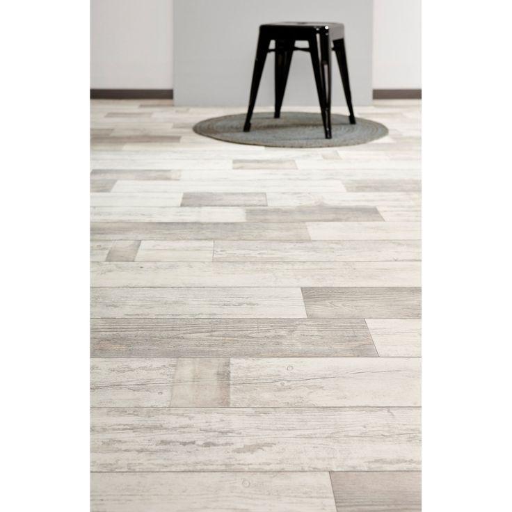 Het uiterlijk van een houten vloer, het gemak van vinyl; Vinyl Boise wit eiken