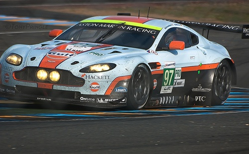 Aston Martin Vantage  Le Mans 2012