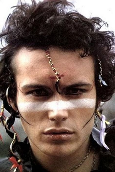 "Adam Ant ""Don't cho ever, don't cho ever - stop being dandy - Show them that you're handsome.."""