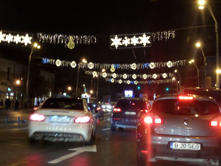 #December #Winter #City #Lights #Christmas is coming #Bucharest #Bulevardul Dimitrie Cantemir