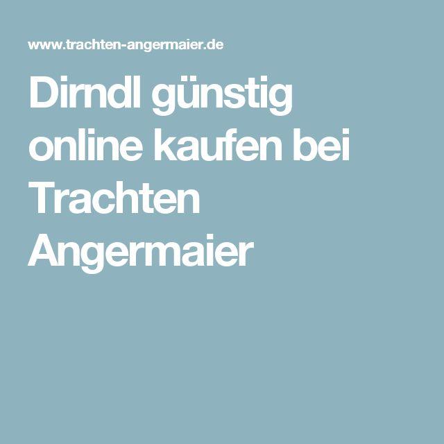 Dirndl günstig online kaufen bei Trachten Angermaier