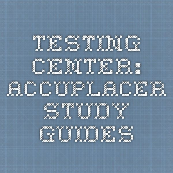 college placement test study guide pdf