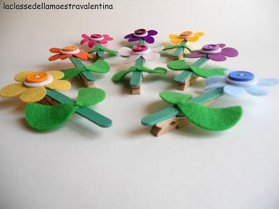 La classe della maestra Valentina: fiori