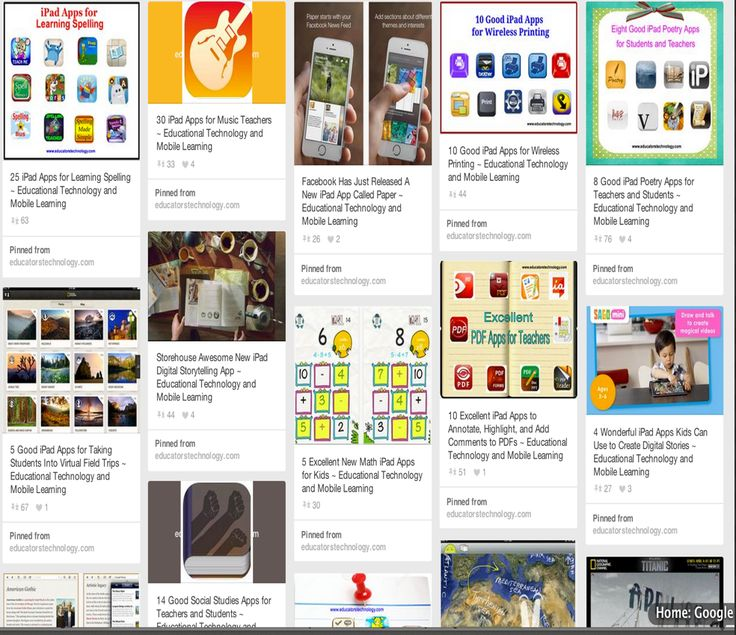 Educational Technology and Mobile Learning: 10 Great Resources to Find Educational iPad Apps for Your Class