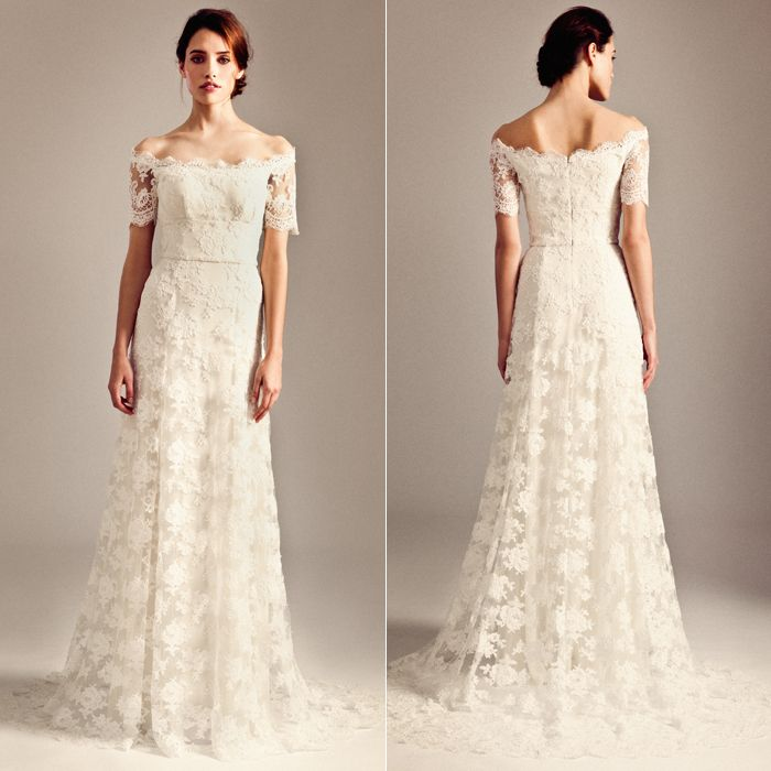 Lace wedding dresses in the UK and online - Photo 2 | Celebrity news in hellomagazine.com
